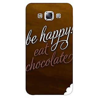 EYP Chocolate Quote Back Cover Case For Samsung Grand Max