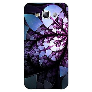 EYP Abstract Flower Pattern Back Cover Case For Samsung Grand Max
