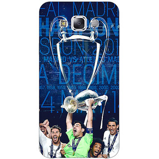 EYP Real Madrid La Decima Back Cover Case For Samsung A8