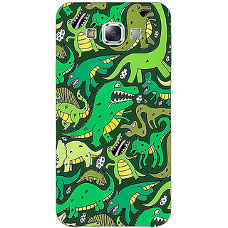 EYP Dinosaurs Pattern Back Cover Case For Samsung A8