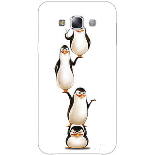 EYP Penguins Madagascar Back Cover Case For Samsung A8