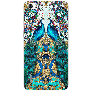 EYP Paisley Beautiful Peacock Back Cover Case For Huawei Honor 6