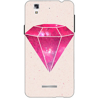 EYP Diamond Back Cover Case For Micromax Yu Yureka