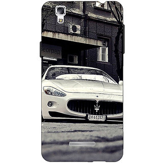 EYP Super Car Aston Martin Back Cover Case For Micromax Yu Yureka
