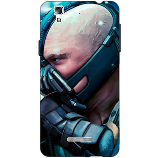 EYP Super Heroes Batman Bane Back Cover Case For Micromax Yu Yureka