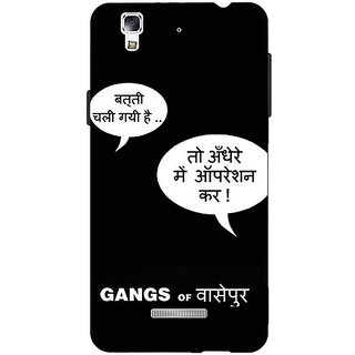 EYP Bollywood Superstar Gangs Of Wasseypur Back Cover Case For Micromax Yu Yureka