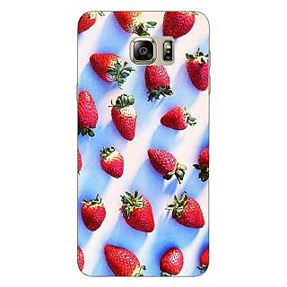 EYP StrawberryPattern Back Cover Case For Samsung S6 Edge+