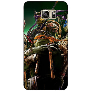EYP Ninja Turtles Back Cover Case For Samsung Galaxy Note 5