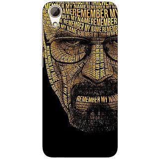 EYP Breaking Bad Heisenberg Back Cover Case For HTC Desire 626G+