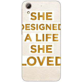 EYP Quotes Beautiful Back Cover Case For HTC Desire 626G