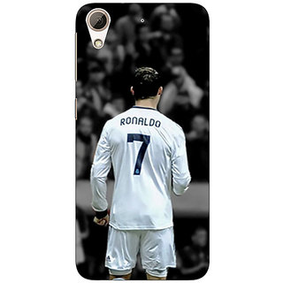 EYP Cristiano Ronaldo Real Madrid Back Cover Case For HTC Desire 728