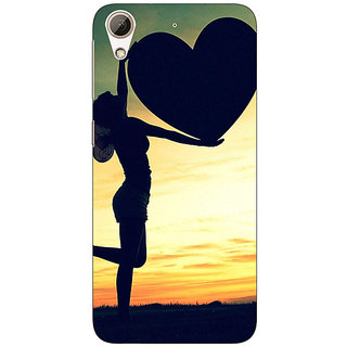 EYP Valentines Back Cover Case For HTC Desire 626S