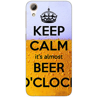 EYP Beer Quote Back Cover Case For HTC Desire 626S