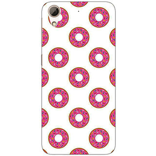 EYP Donut Pattern Back Cover Case For HTC Desire 626S