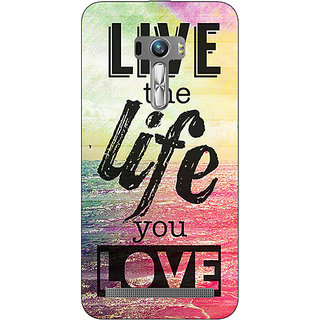 EYP Life Quote Back Cover Case For Asus Zenfone Selfie