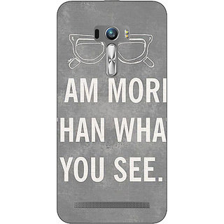 EYP Quote Back Cover Case For Asus Zenfone Selfie