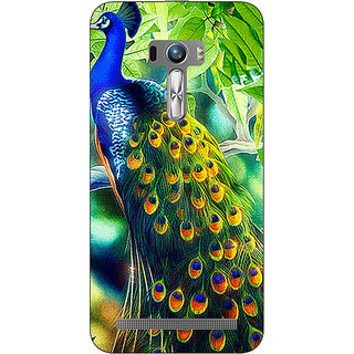 EYP Paisley Beautiful Peacock Back Cover Case For Asus Zenfone Selfie
