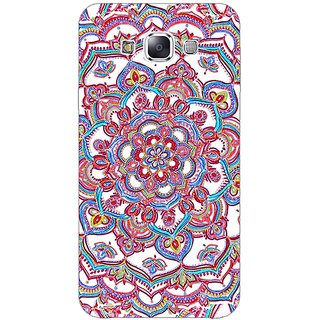 EYP Flower Circles Pattern Back Cover Case For Samsung Galaxy J1