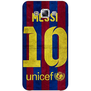 EYP Barcelona Messi Back Cover Case For Samsung Galaxy J1