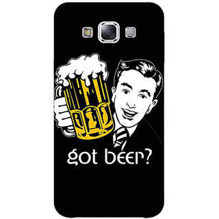 EYP Beer Quote Back Cover Case For Samsung Galaxy J1