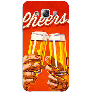 EYP Beer Quote Cheers Back Cover Case For Samsung Galaxy J1