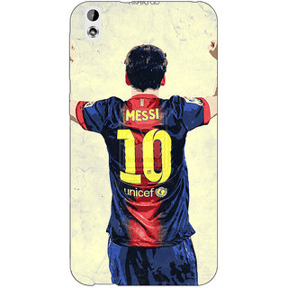 EYP Barcelona Messi Back Cover Case For HTC Desire 816