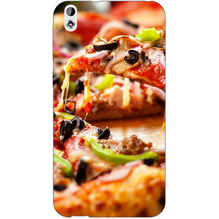 EYP Pizza Love Back Cover Case For HTC Desire 816 Dual Sim