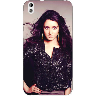 EYP Bollywood Superstar Shraddha Kapoor Back Cover Case For HTC Desire 816 Dual Sim