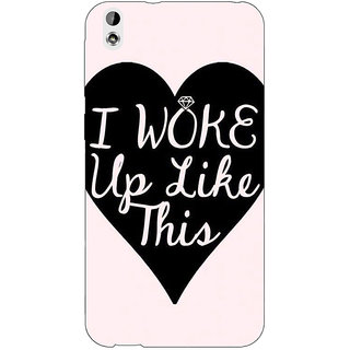EYP Quotes Beautiful Back Cover Case For HTC Desire 816