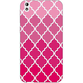 EYP Morocco Pattern Back Cover Case For HTC Desire 816
