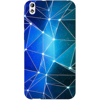 EYP Crystal Prism Back Cover Case For HTC Desire 816