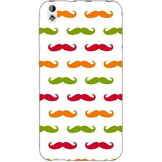 EYP Moustache Back Cover Case For HTC Desire 816