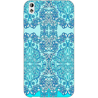 EYP Pattern  Back Cover Case For HTC Desire 816G