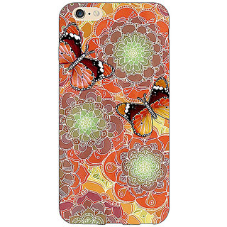 EYP Butterflies Pattern Back Cover Case For Apple iPhone 6S
