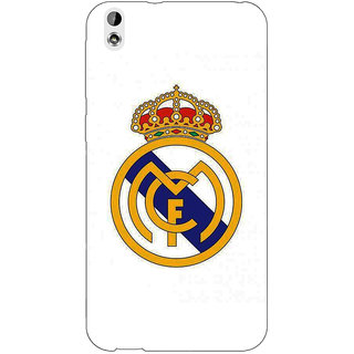 EYP Real Madrid Back Cover Case For HTC Desire 816G