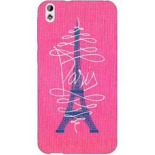 EYP Paris Love Back Cover Case For HTC Desire 816G