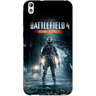EYP Battlefield 4 Back Cover Case For HTC Desire 816G
