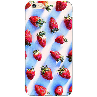 EYP StrawberryPattern Back Cover Case For Apple iPhone 6S