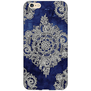 EYP Vintage Luxury Pattern Back Cover Case For Apple iPhone 6S Plus