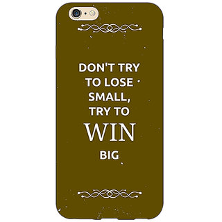 EYP SUITS Quotes Back Cover Case For Apple iPhone 6S