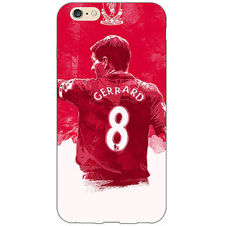 EYP Liverpool Gerrard Back Cover Case For Apple iPhone 6S Plus