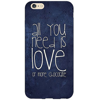 EYP Love Quote Back Cover Case For Apple iPhone 6S