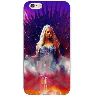 EYP Game Of Thrones GOT Khaleesi Daenerys Targaryen Back Cover Case For Apple iPhone 6S