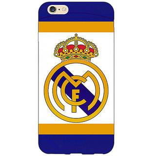 EYP Real Madrid Back Cover Case For Apple iPhone 6S Plus