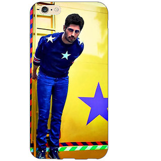 EYP Bollywood Superstar Siddharth Malhotra Back Cover Case For Apple iPhone 6S Plus