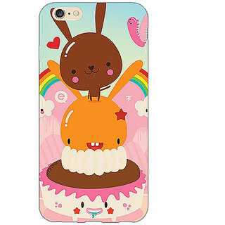 EYP Cartoons Back Cover Case For Apple iPhone 6S
