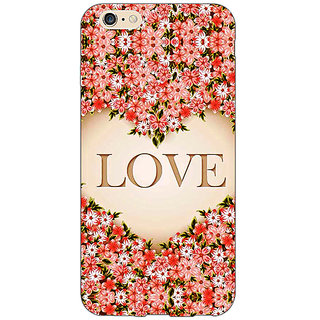 EYP Love Floral Back Cover Case For Apple iPhone 6S