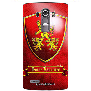 EYP Game Of Thrones GOT House Lannister  Back Cover Case For LG G4