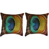 Pair Of Morepankh Cushion Cover Throw Pillow