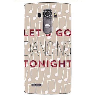 EYP Dancing Quote Back Cover Case For LG G4